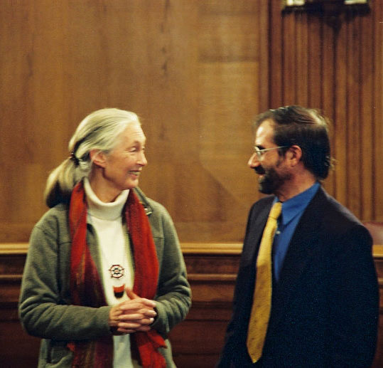 Jane Goodall, Carl Ross, U.S. Senate