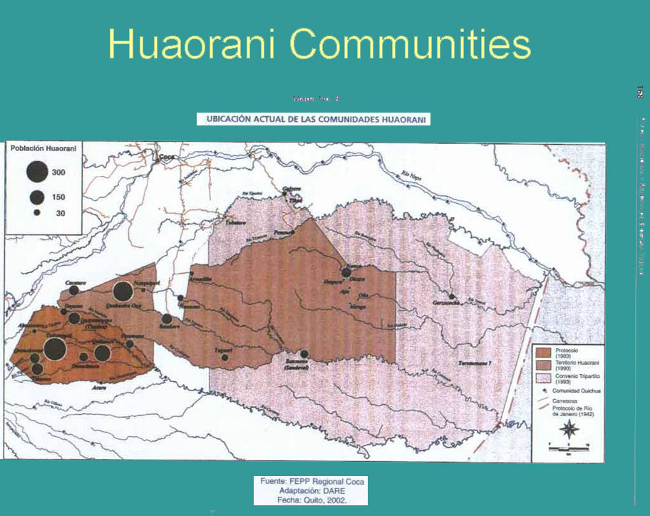 huaorani of ecuador essay