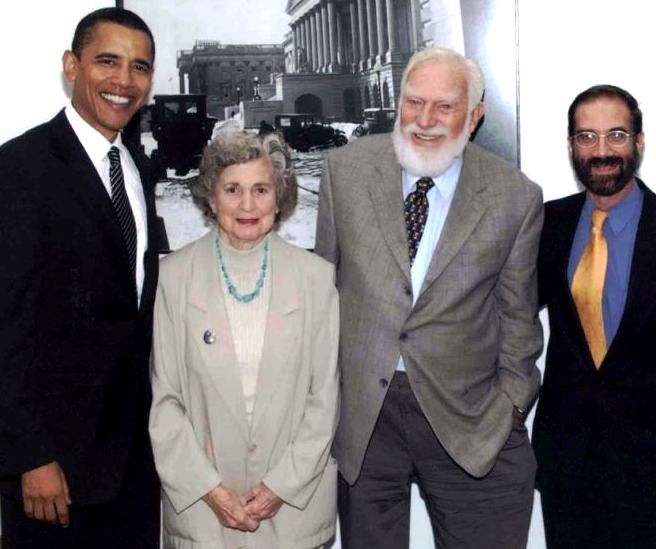Barack Obama, Esther & Martin Litton, Carl Ross,    Save America's Forests